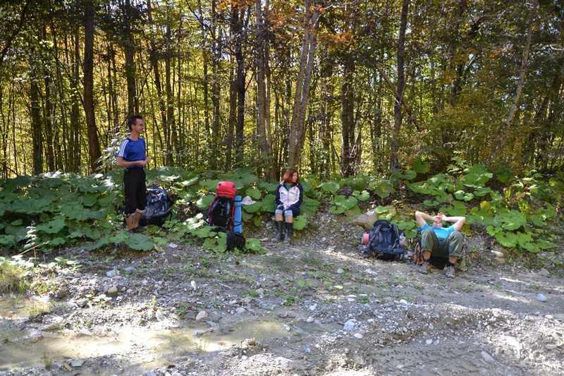 Отчет о походе на гору Большой Тхач