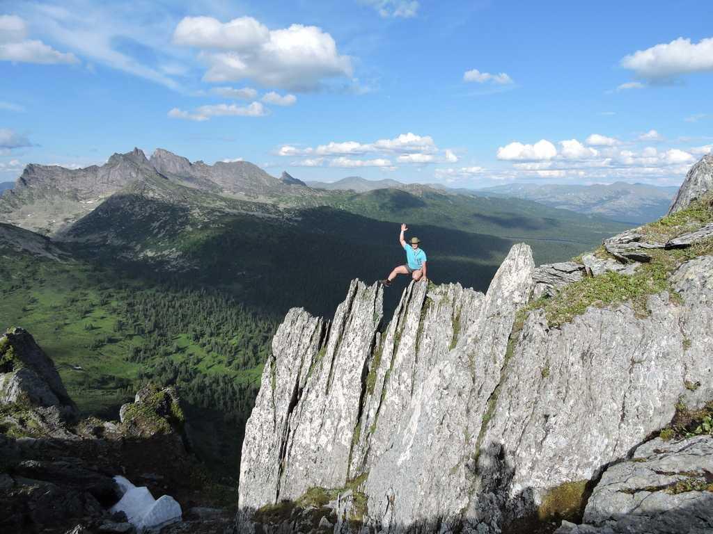 Поход к горе Тушканчик