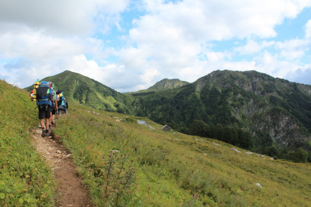 Поход тридцатка кавказ через горы к морю