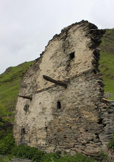 Руины деревни Халде