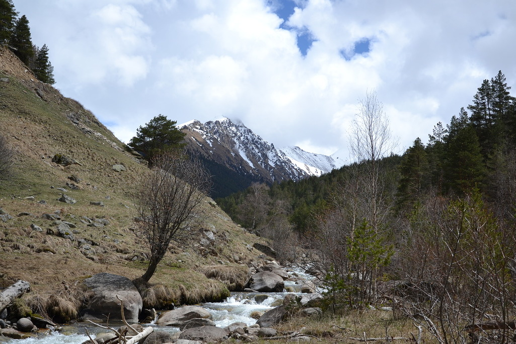 Поход Горячие источники Кавказ