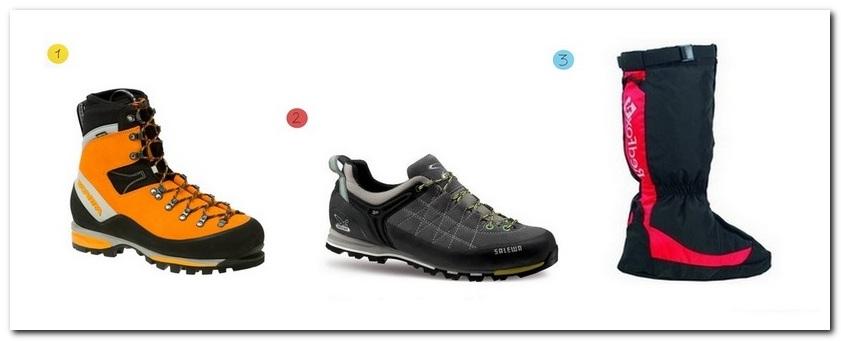 Список обуви для восхождения на Эльбрус, Казбек, Белуху
