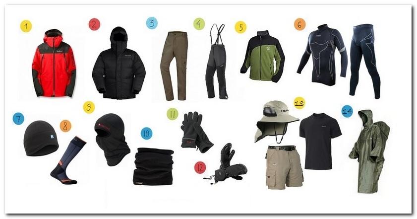 Одежда для восхождения