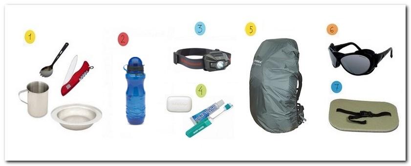 необходимые вещи для похода