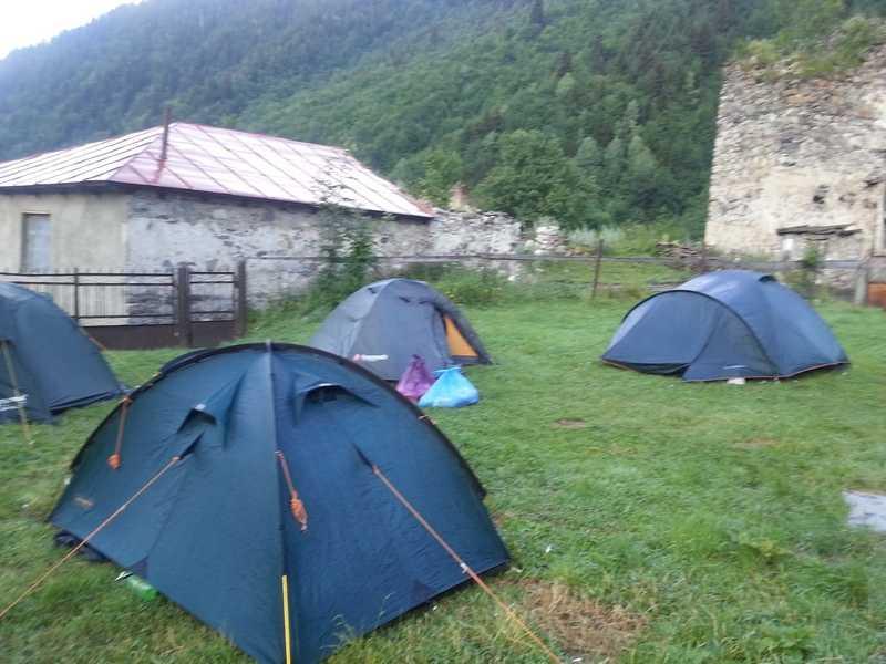 Отчёт о походах в Сванетии летом 2017 года