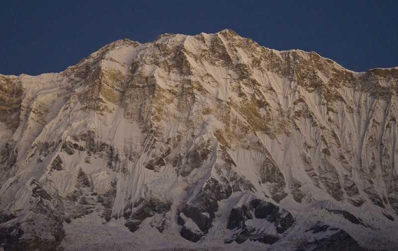 Отчёт о трекинге к базовому лагерю Аннапурны в Непале