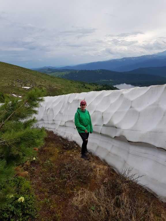 Снег Ергаки