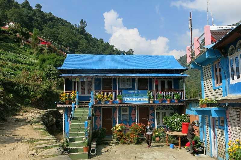 Ночлег и питание на треккинге в Непале