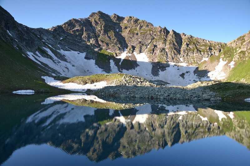 Поход озера Архыза