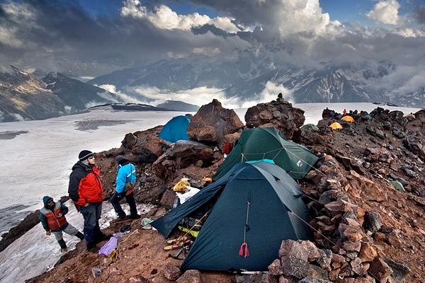 лагерь Эльбрус