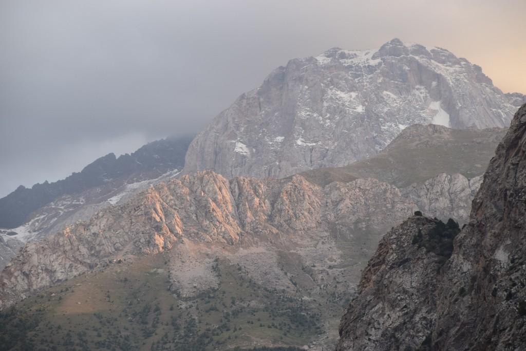 Поход Фанские горы
