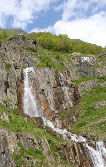 Водопад Халде
