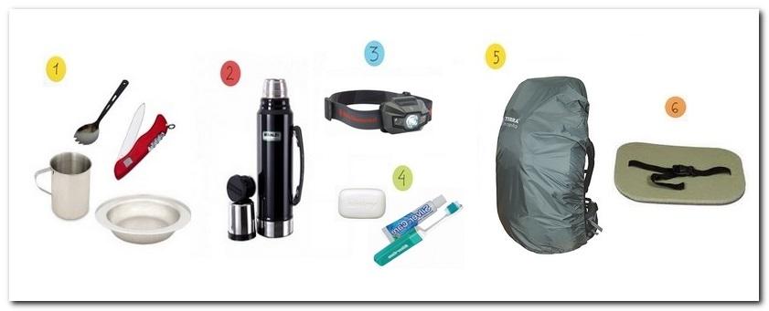 необходимые вещи для похода1