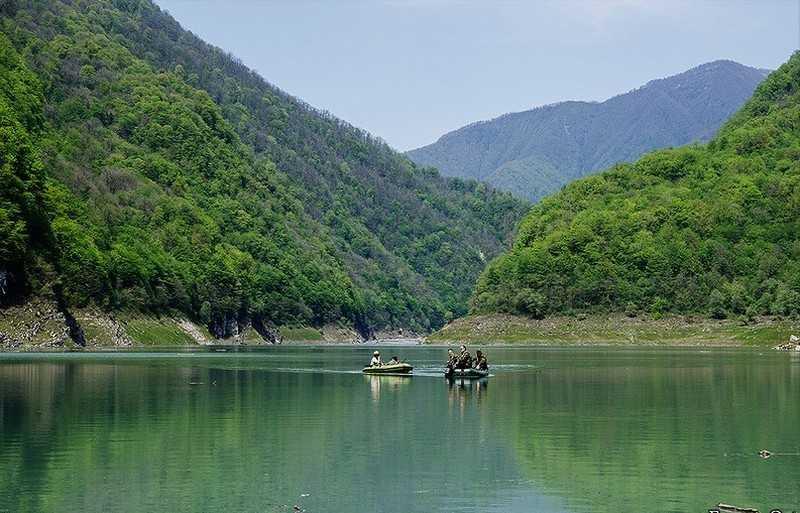 Поход по Абхазии Кодорское ущелье