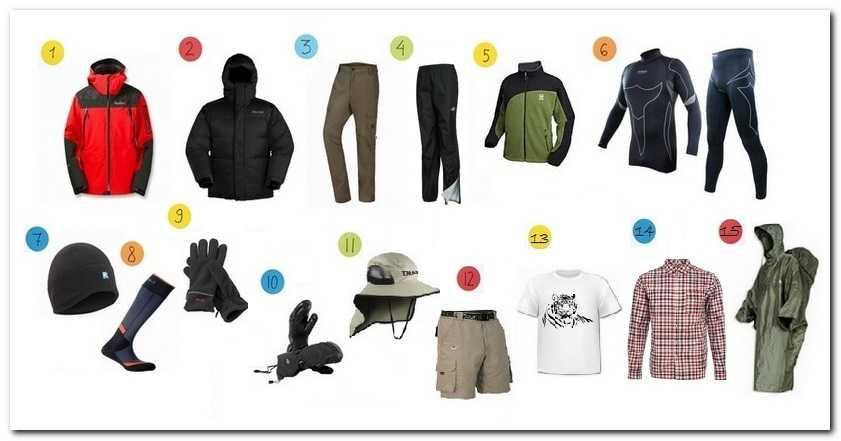 Одежда для весенних и осенних горных походов по Крыму, Турции, Кипру и других регионов с похожим климатом