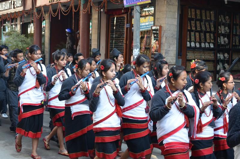 Парад в Катманду